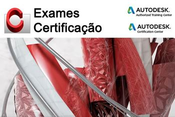 Picture of Autodesk certification exam