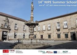 Picture of NIPE 14th Summer School - Advances in Quantile Regression