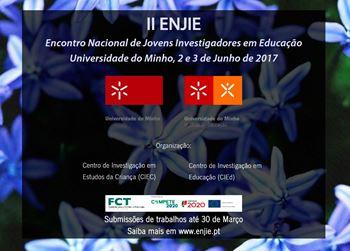 Imagens de II ENJIE - Encontro Nacional de Jovens Investigadores em Educação