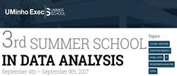 Picture of 3rd Summer School in Data Analysis