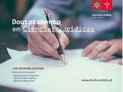 Imagens de Taxa de candidatura - Doutoramento da Escola de Direito - 1ª fase