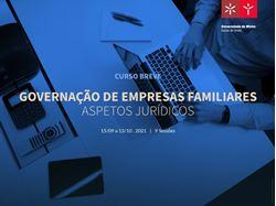 Imagens de Curso Breve Governação Empresas Familiares - Aspetos jurídicos